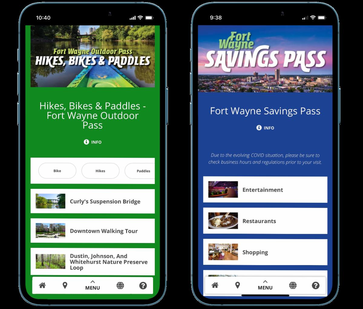 Outdoor Pass and Savings Pass