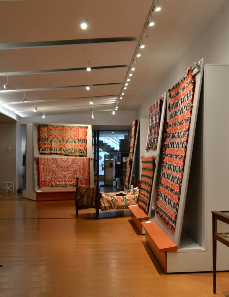 McCarl Coverlet Gallery at Saint Vincent College