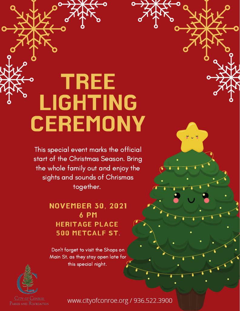 tree lighting 2021