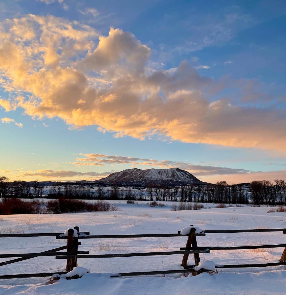 Winter in Steamboat Springs, CO