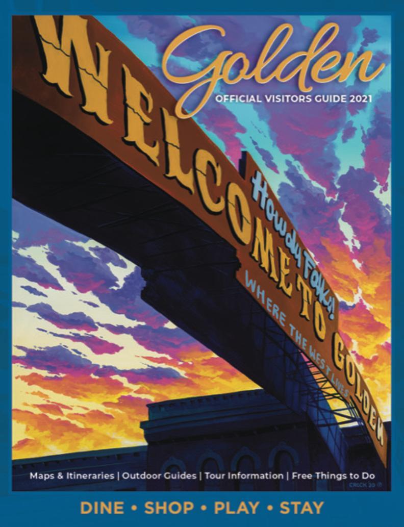 2021 Golden Official Visitors Guide