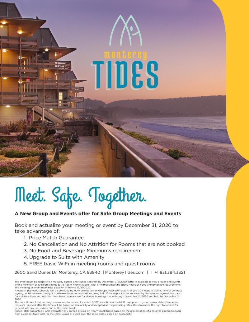 Monterey Tides Promotion September 2020
