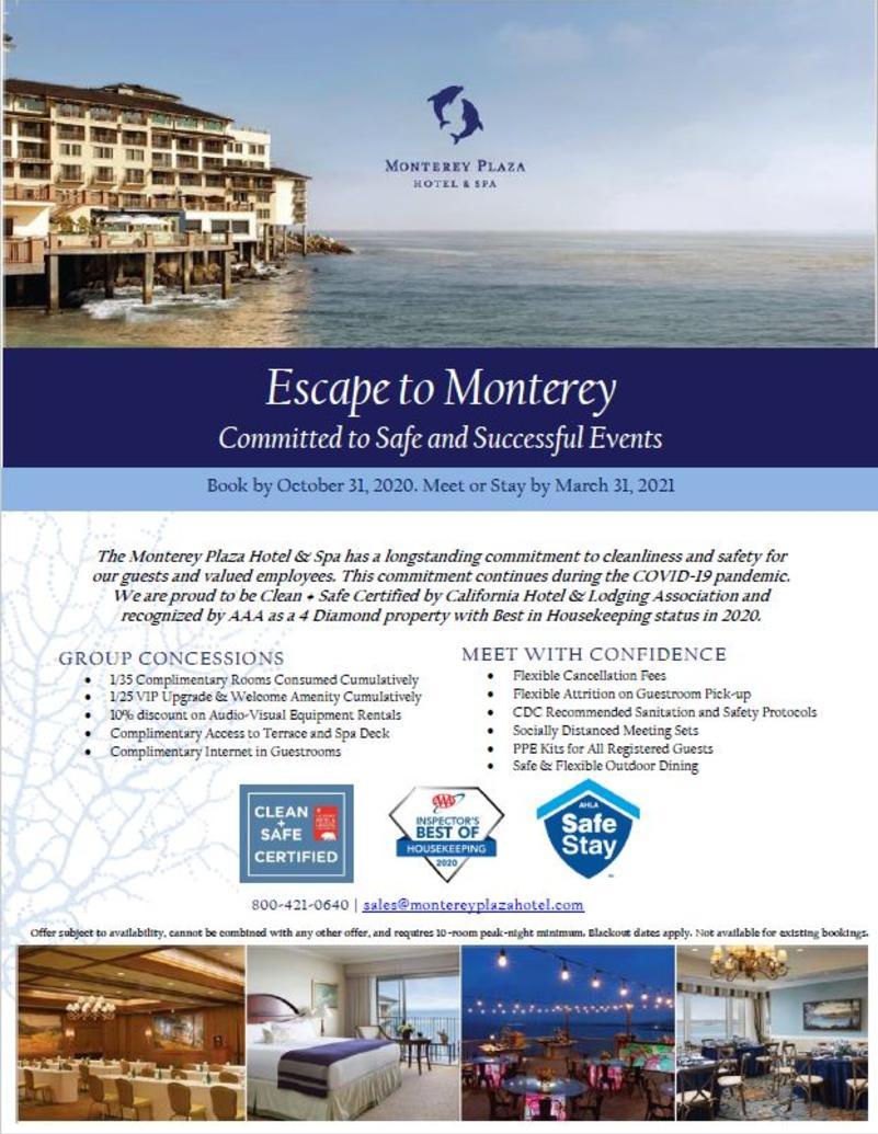Monterey Plaza Promotion