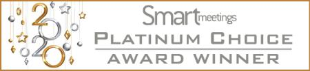 Smart Meetings Platinum Choice Award Winner