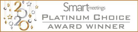 Smart Meetings Platinum Choice Award Winner