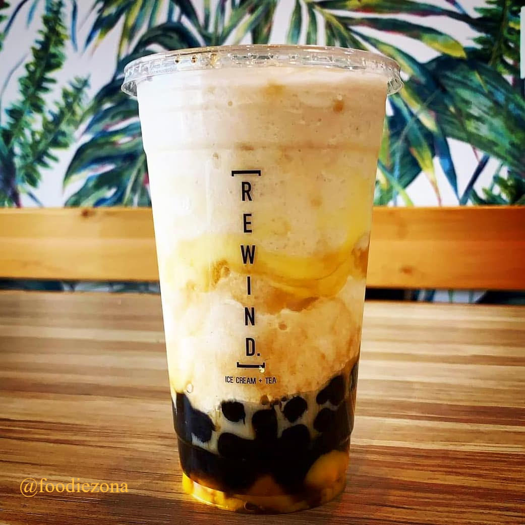 Rewind Ice Cream + Boba Tea in Chandler