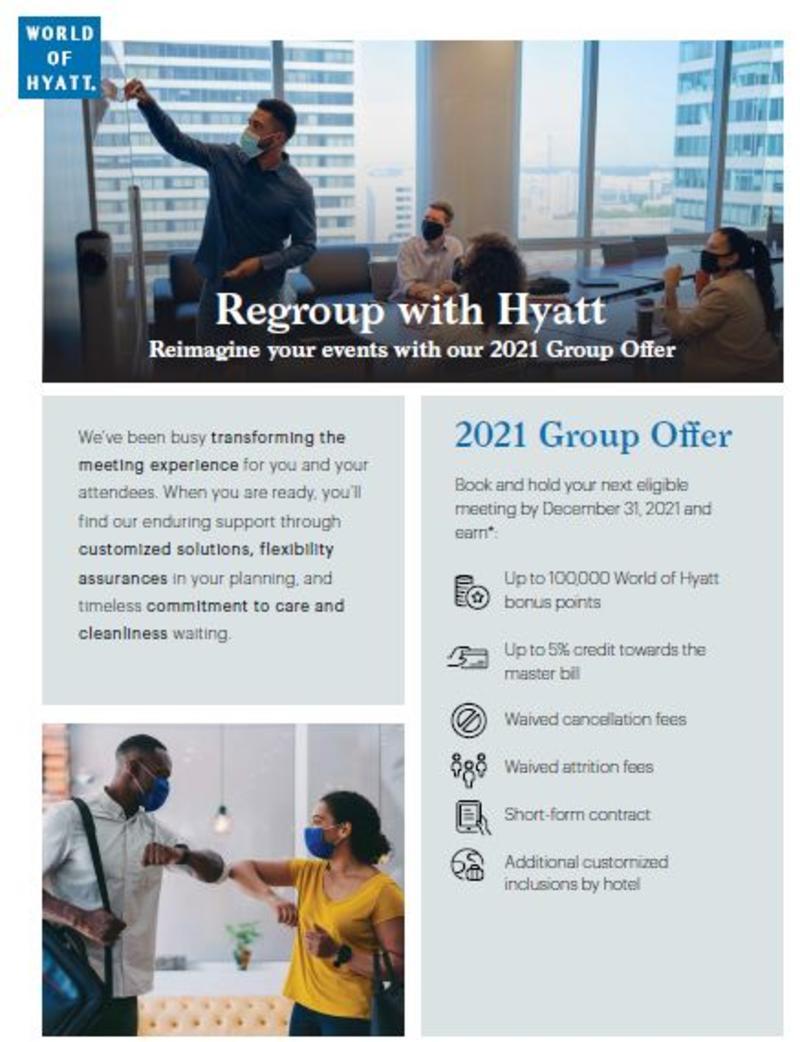 Hyatt Meetings Promo March 2021