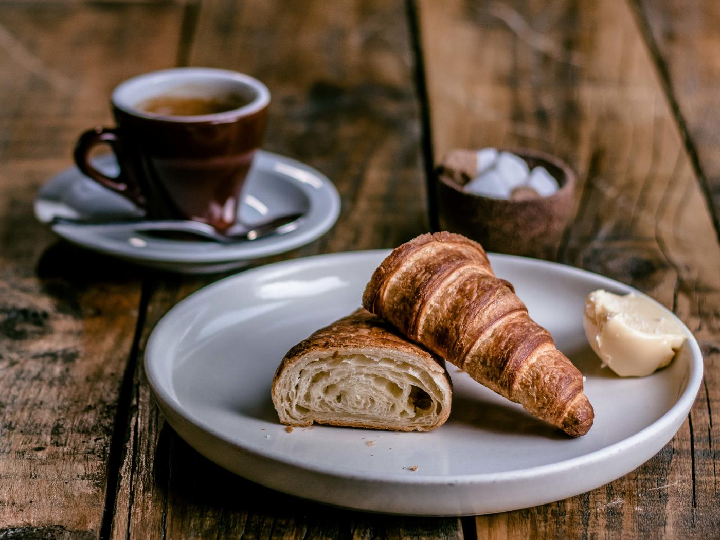 Pastry and Coffee at Gibbston Valley Lodge