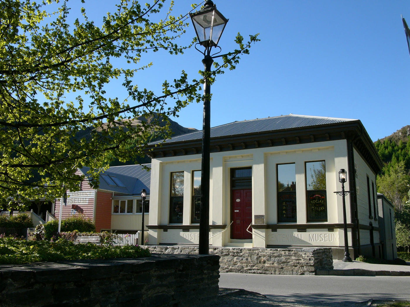 Lakes District Museum facade, Arrowtown