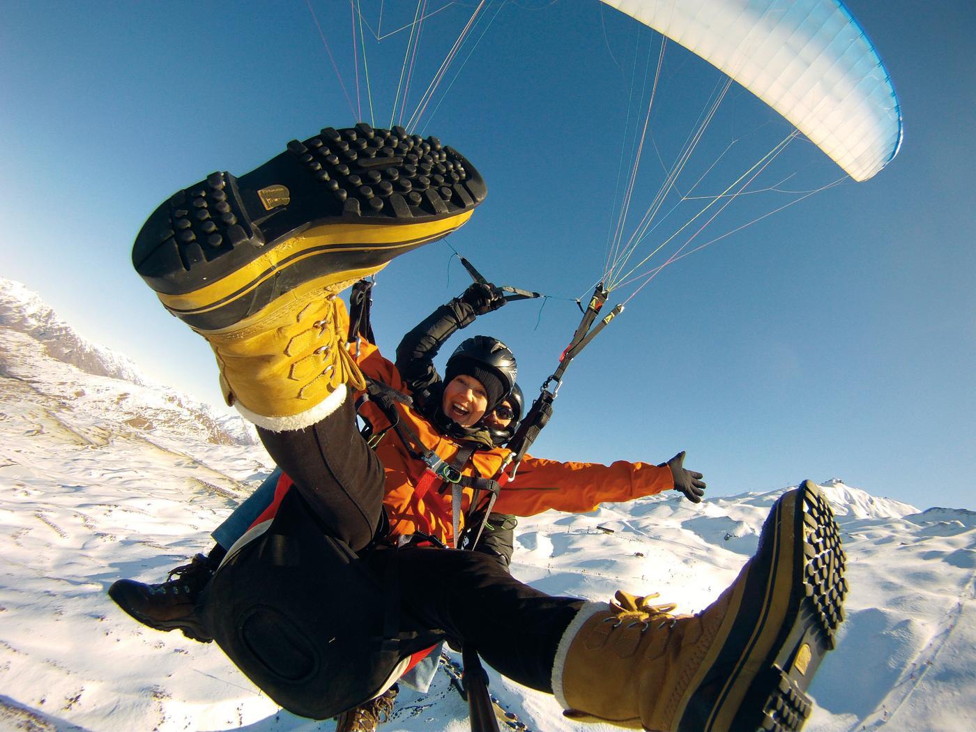 challenge adrenalin paragliding Queenstown