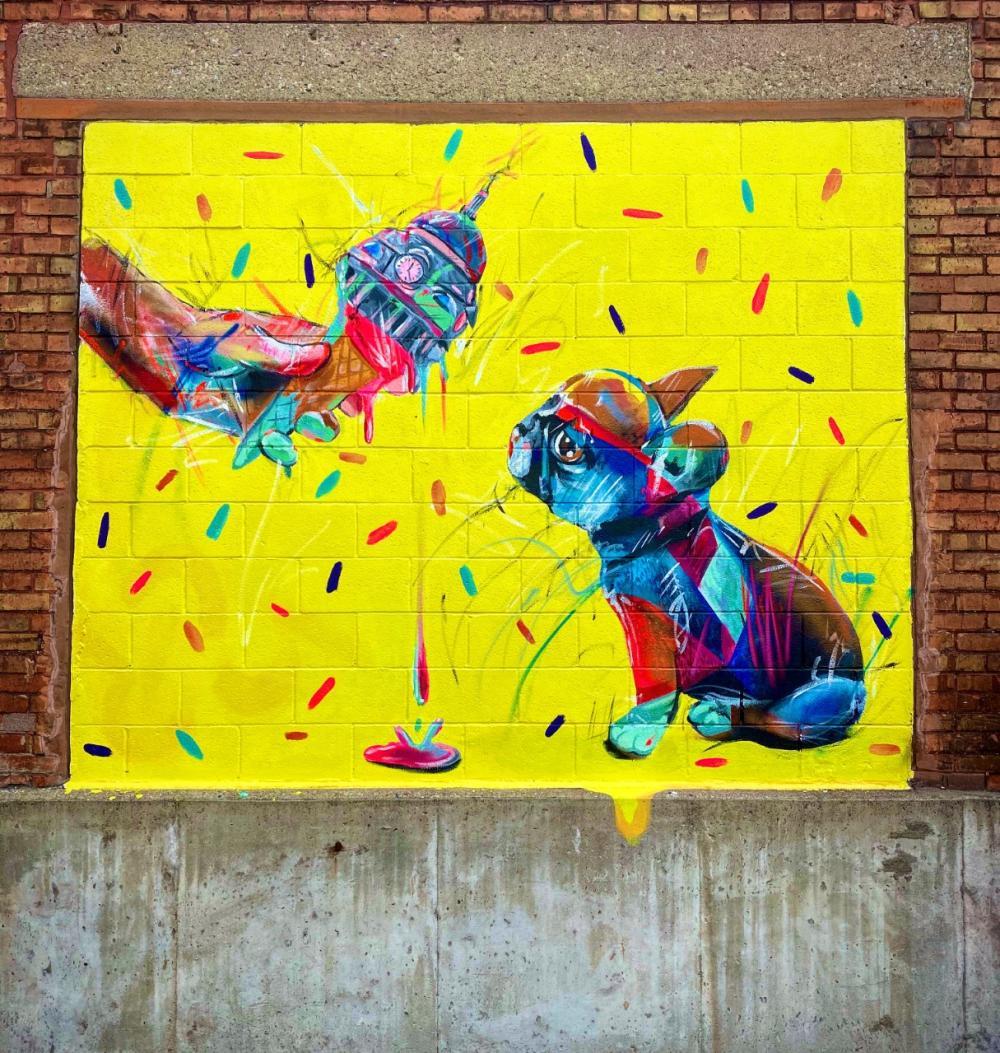 I Scream Mural
