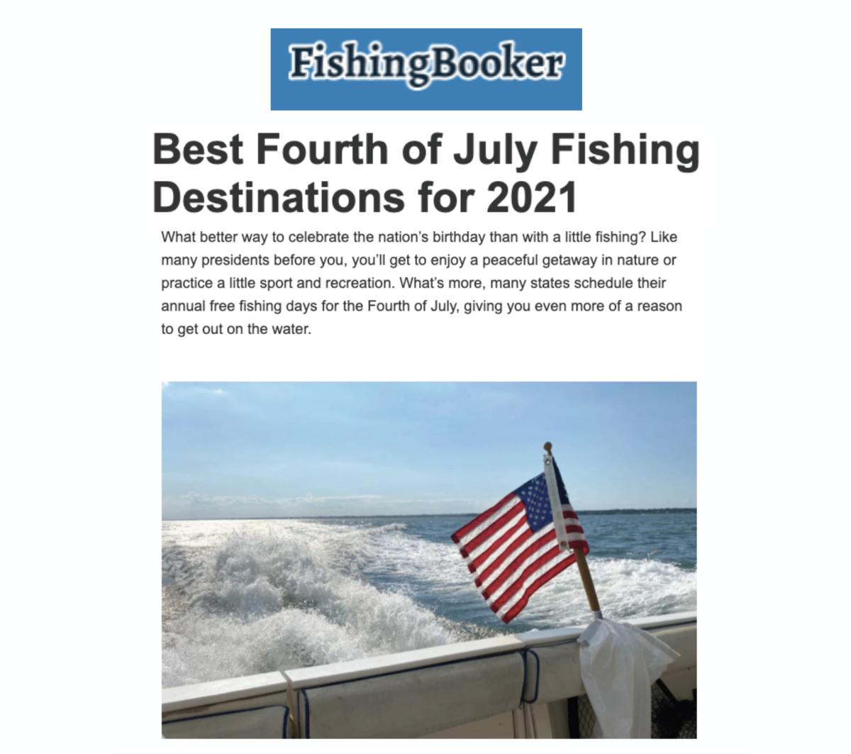 Fishing Booker