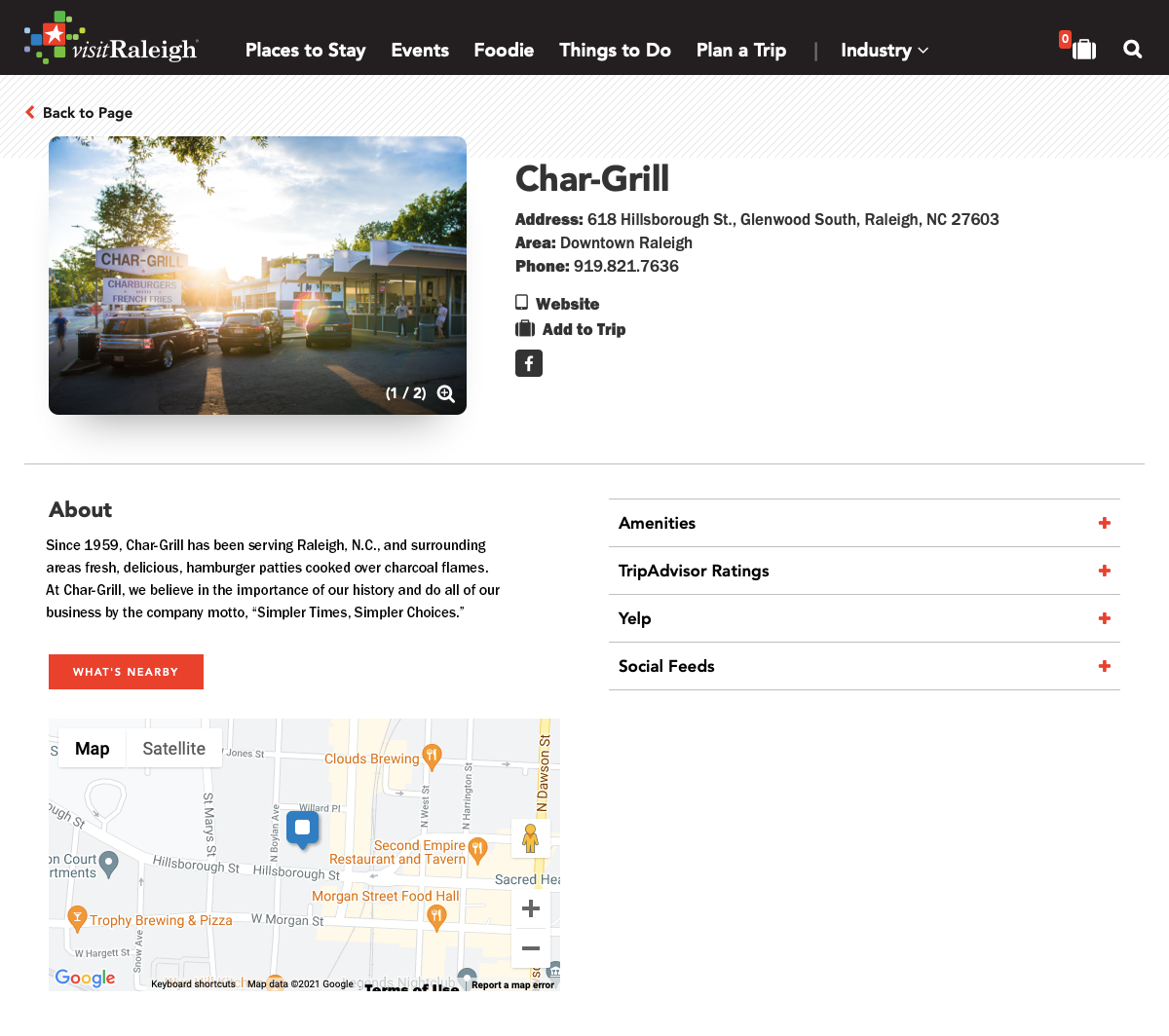 Chargril page
