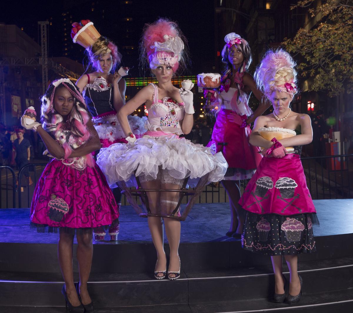 HighBall Cupcake Costumes