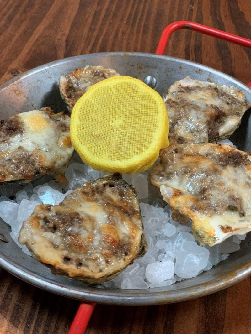 Atlantic on Pacific Oyster's Chesapeake In Virginia Beach