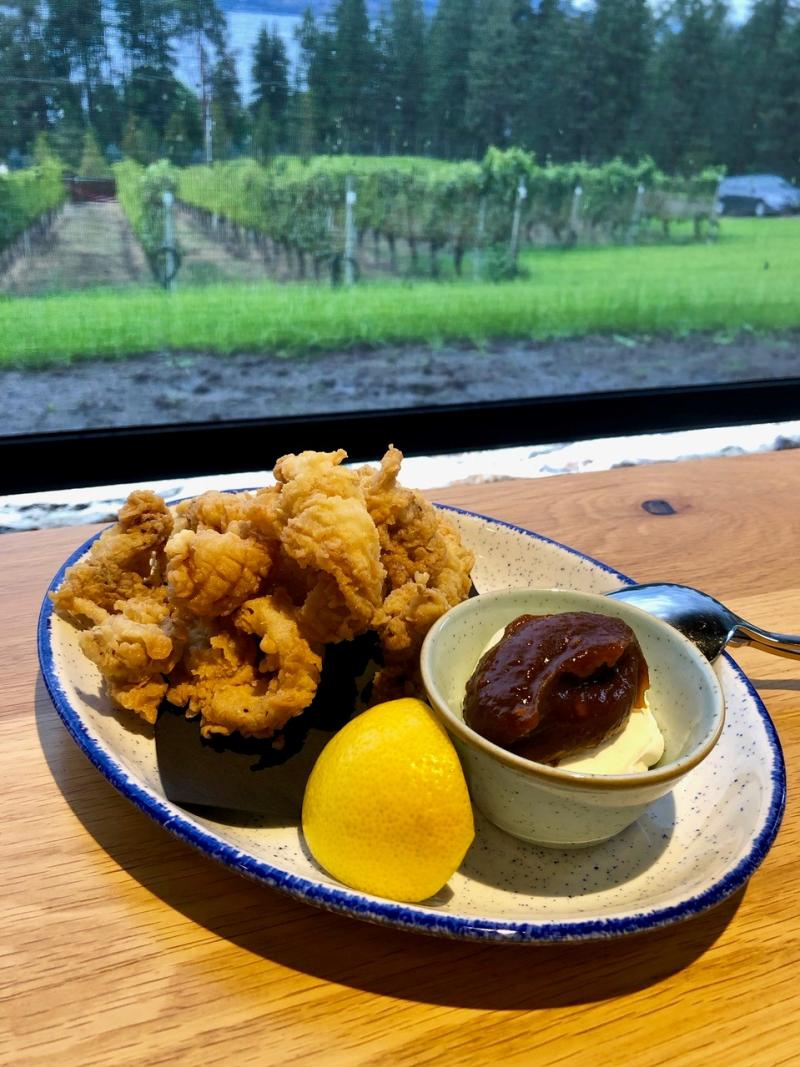 Calamari Dish at Homeblock Restaurant