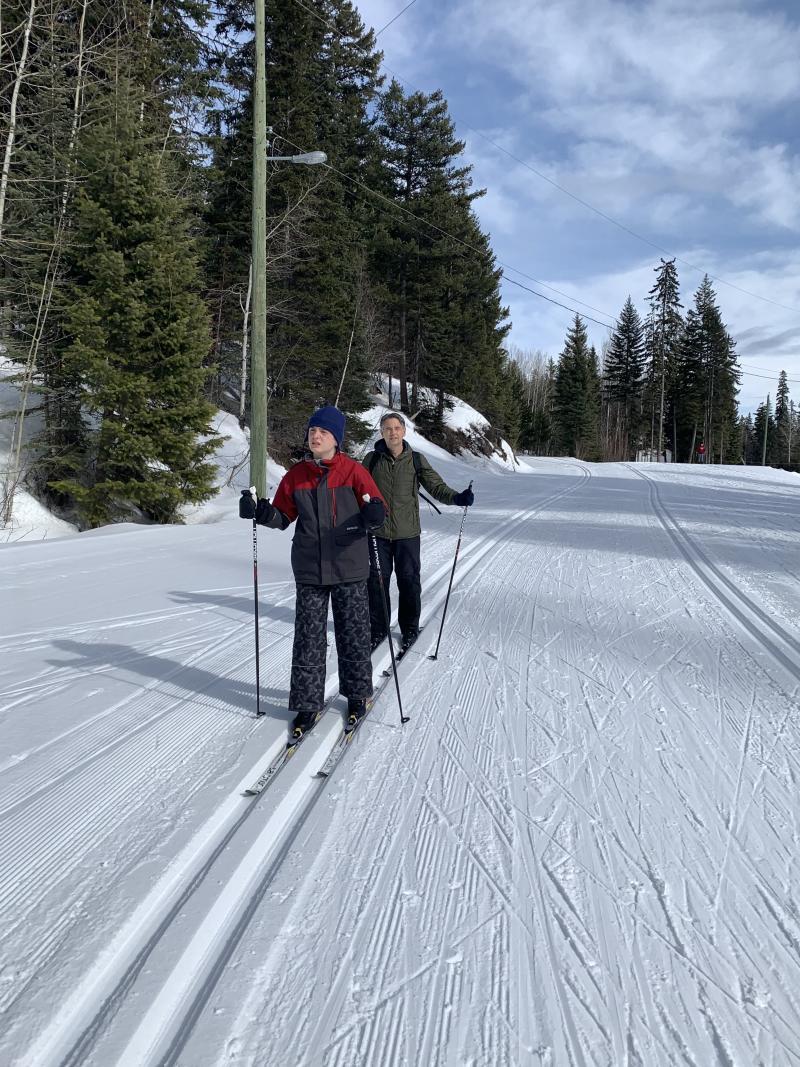 Nordic skiing at Telemark Nordic Centre