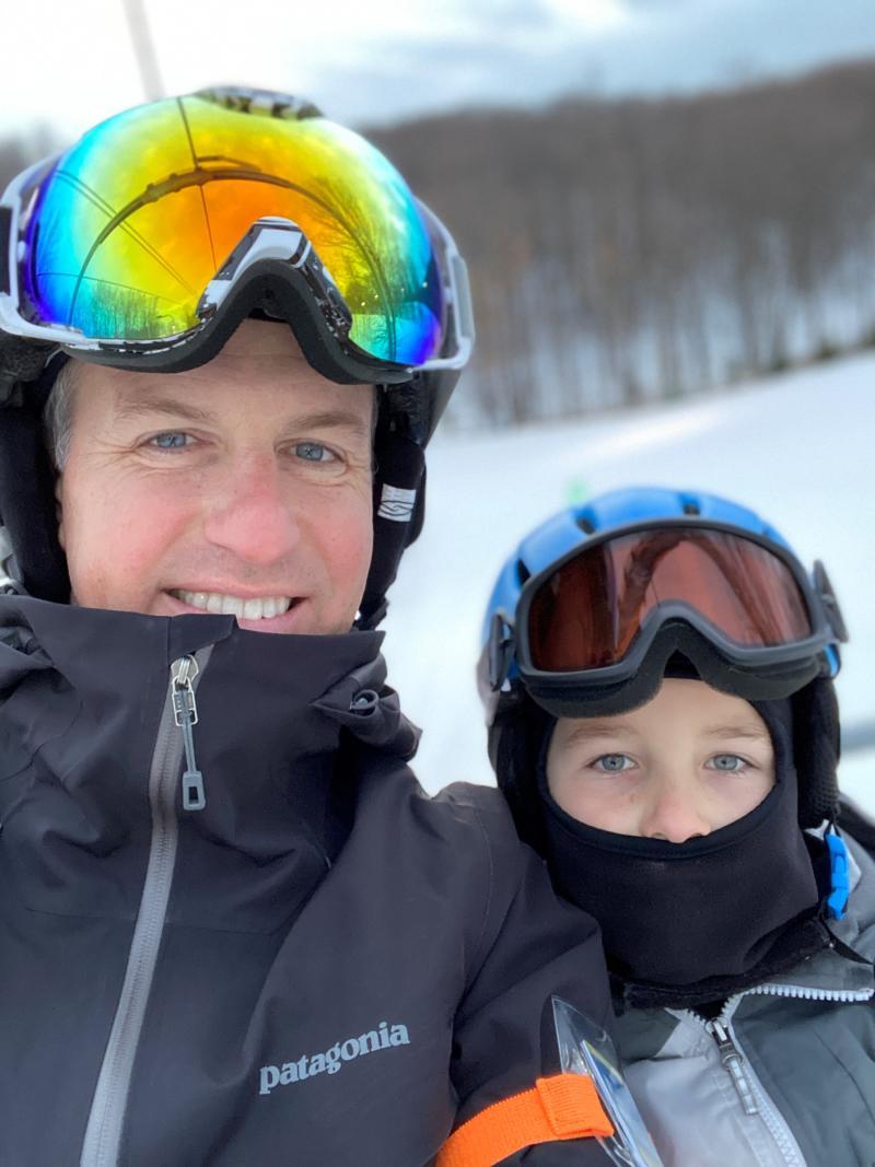 Tkach Family Skiing