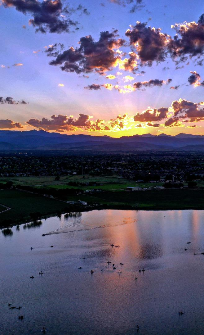 Sunset Longmont