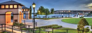 The beautiful Rockefeller Gardens at The Casements in Daytona Beach