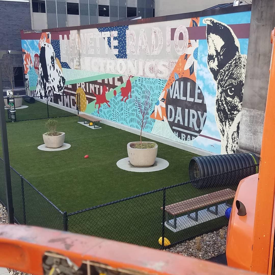 Allentown Mural - 'Unleash (2021)'