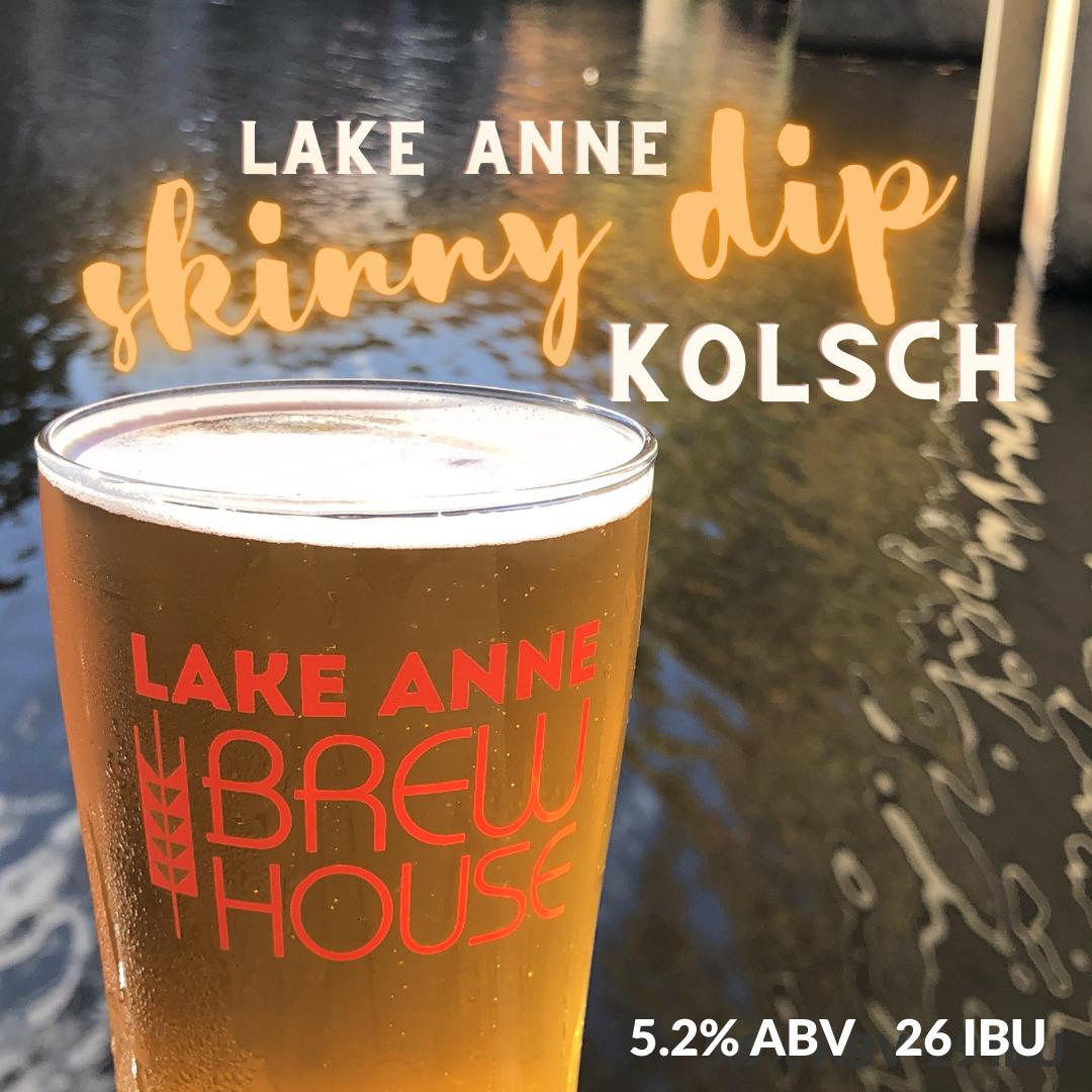 Skinny Dip Kolsch - Lake Anne Brew House