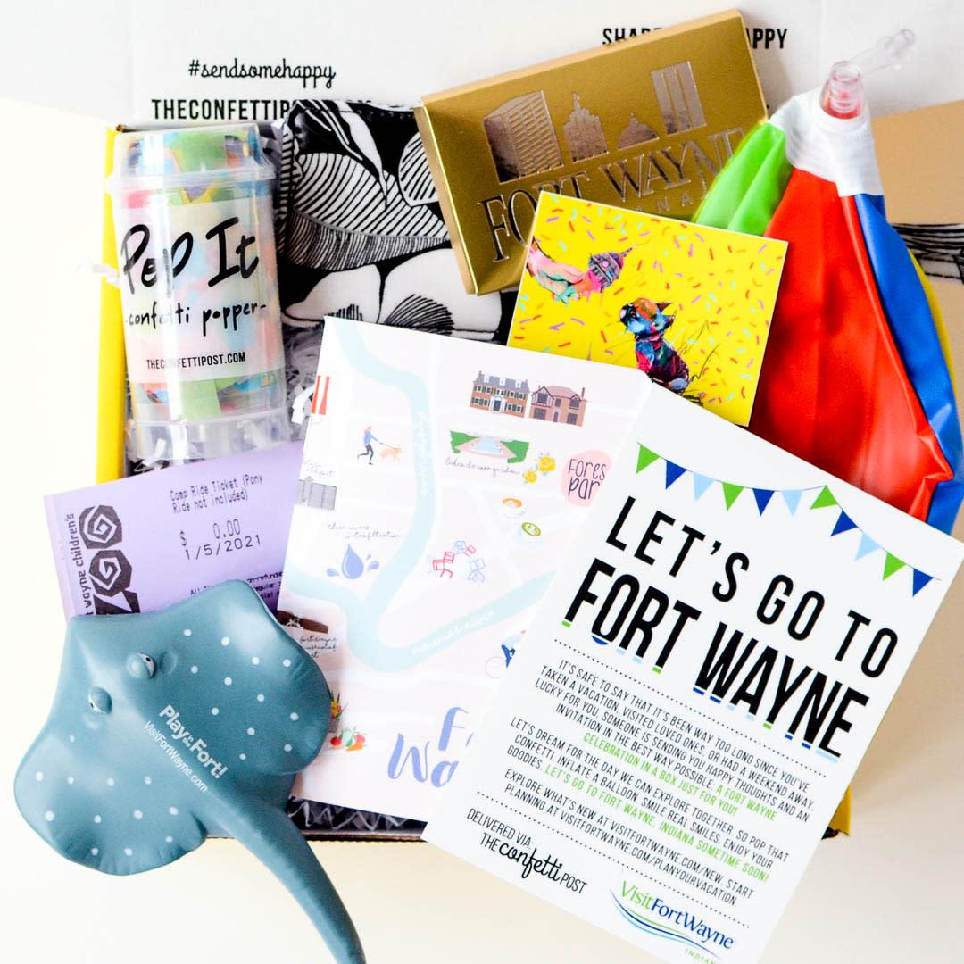 Plan for a Fort Wayne Getaway - Gift Box