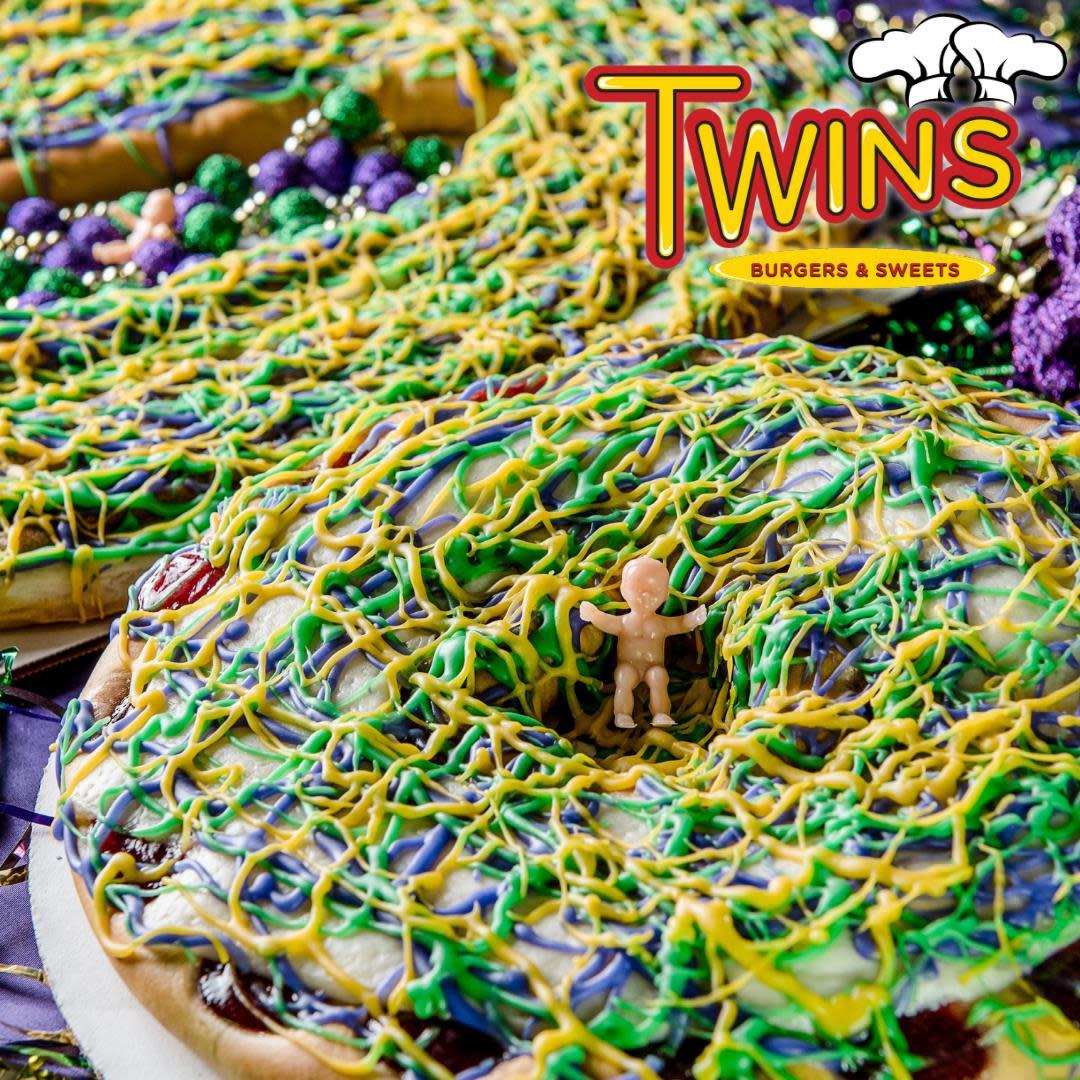 Twin's King Cake