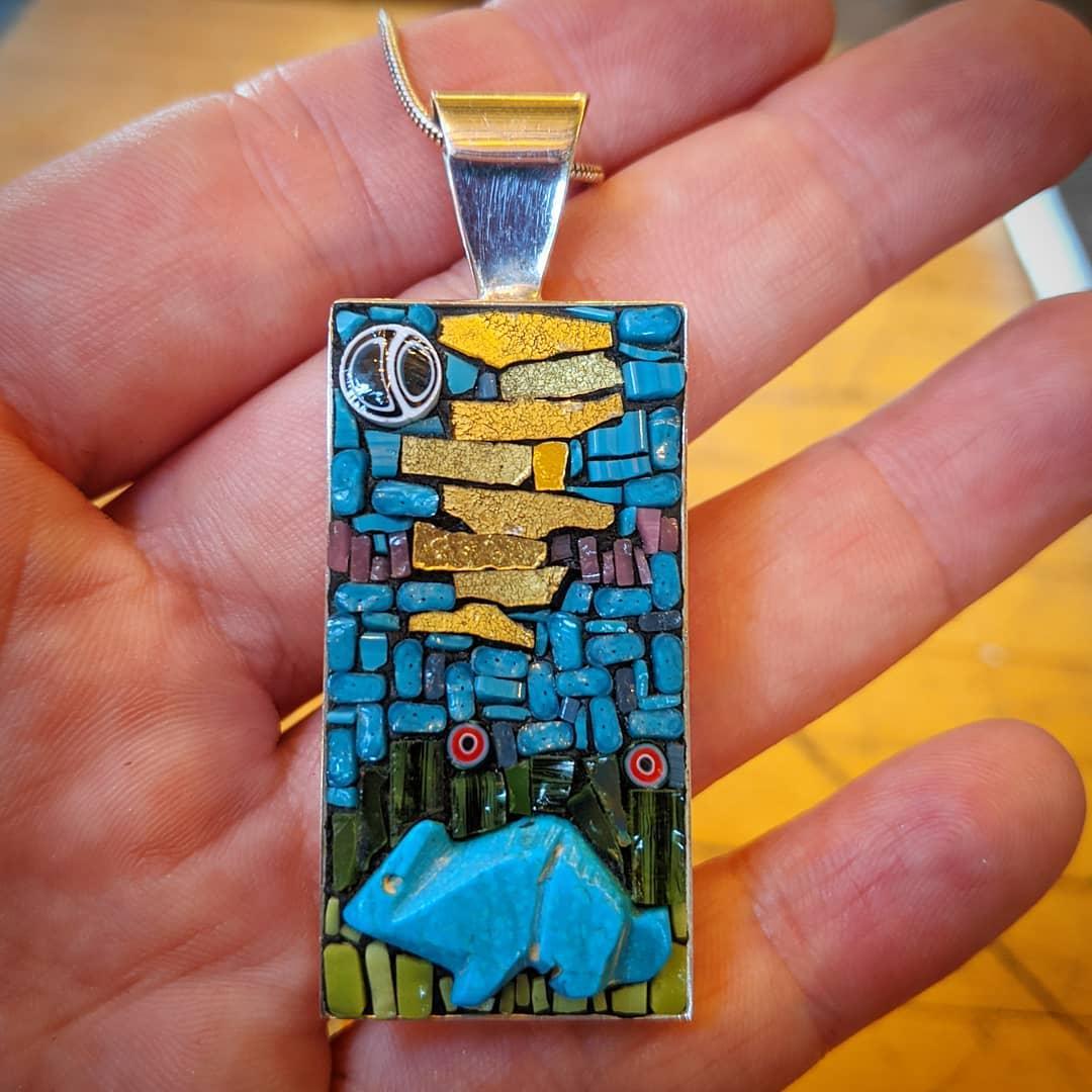 Jewelry, Sager Mosaics