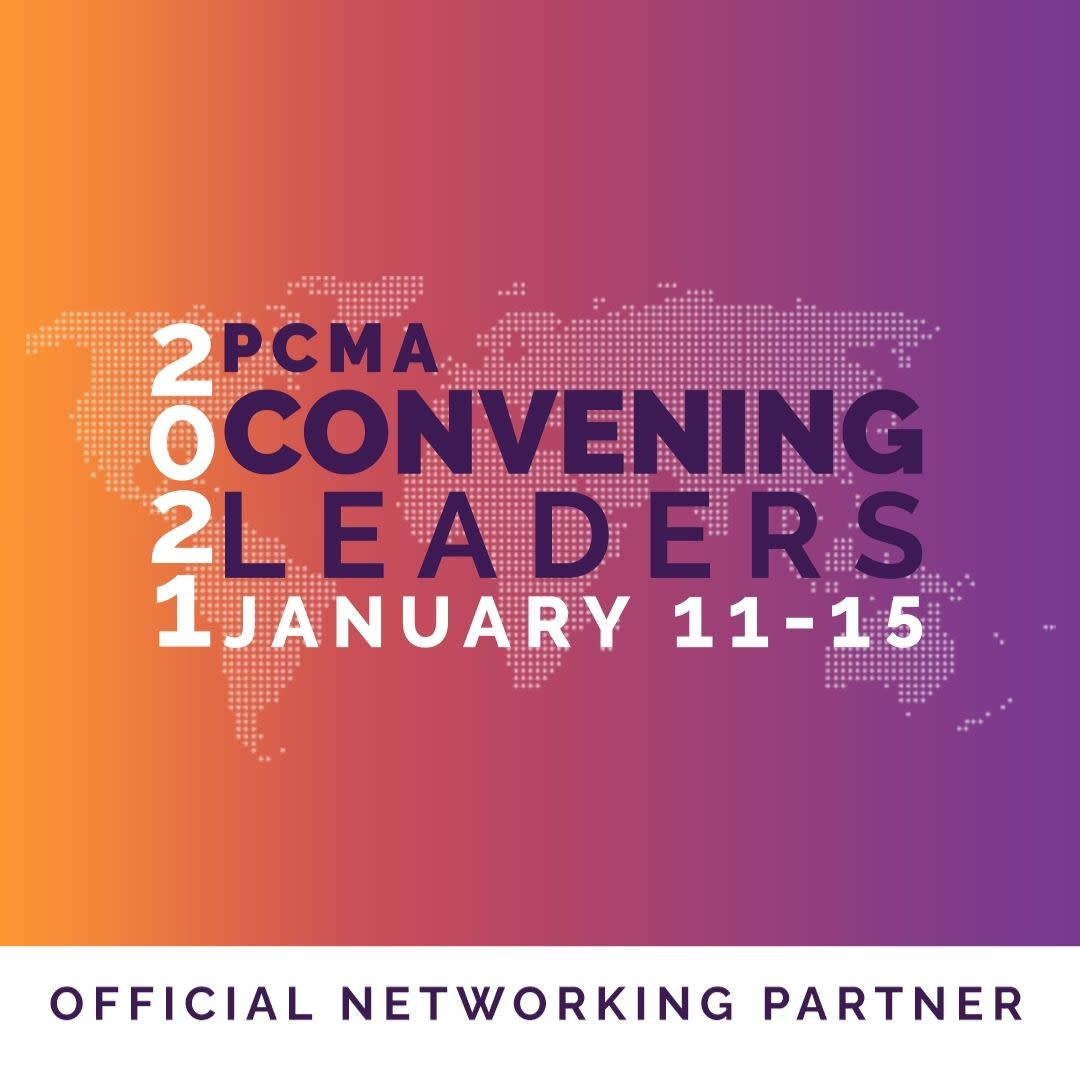 Logo for the 2021 PCMA Convening Leaders