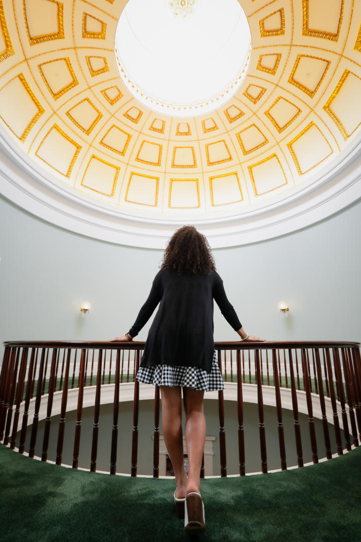 Rotunda at Georgia's Old Governor's Mansion