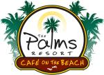 The Palms Resort Cafe On The Beach logo