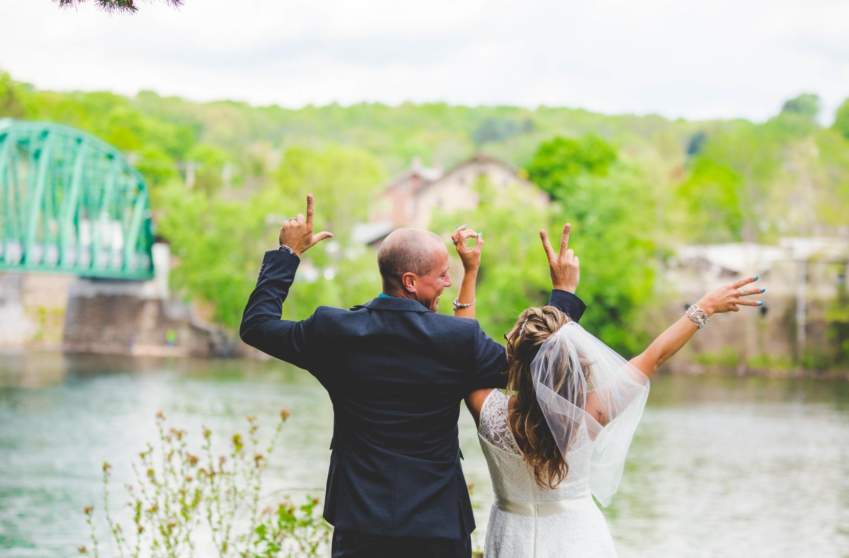 Bucks County, Pennsylvania Riverfront Weddings