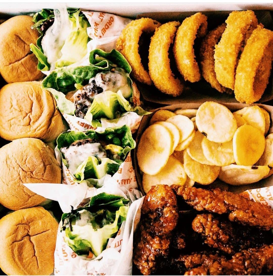 Burger Platter from BurgerIM in Chandler