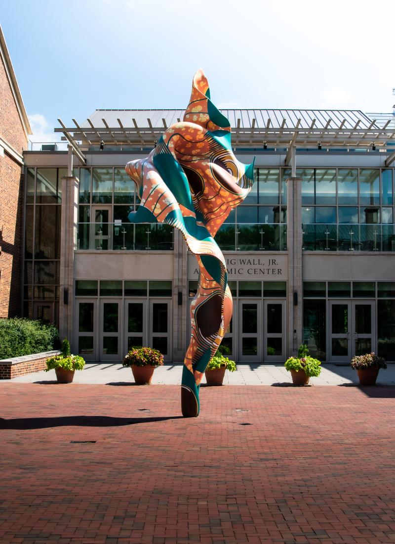 Shonibare Sculpture Davidson