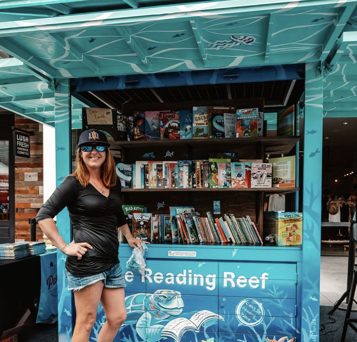 Reading Reef Kiosk at Pacific City