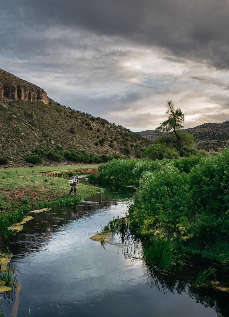 Rio Peñasco Fishing