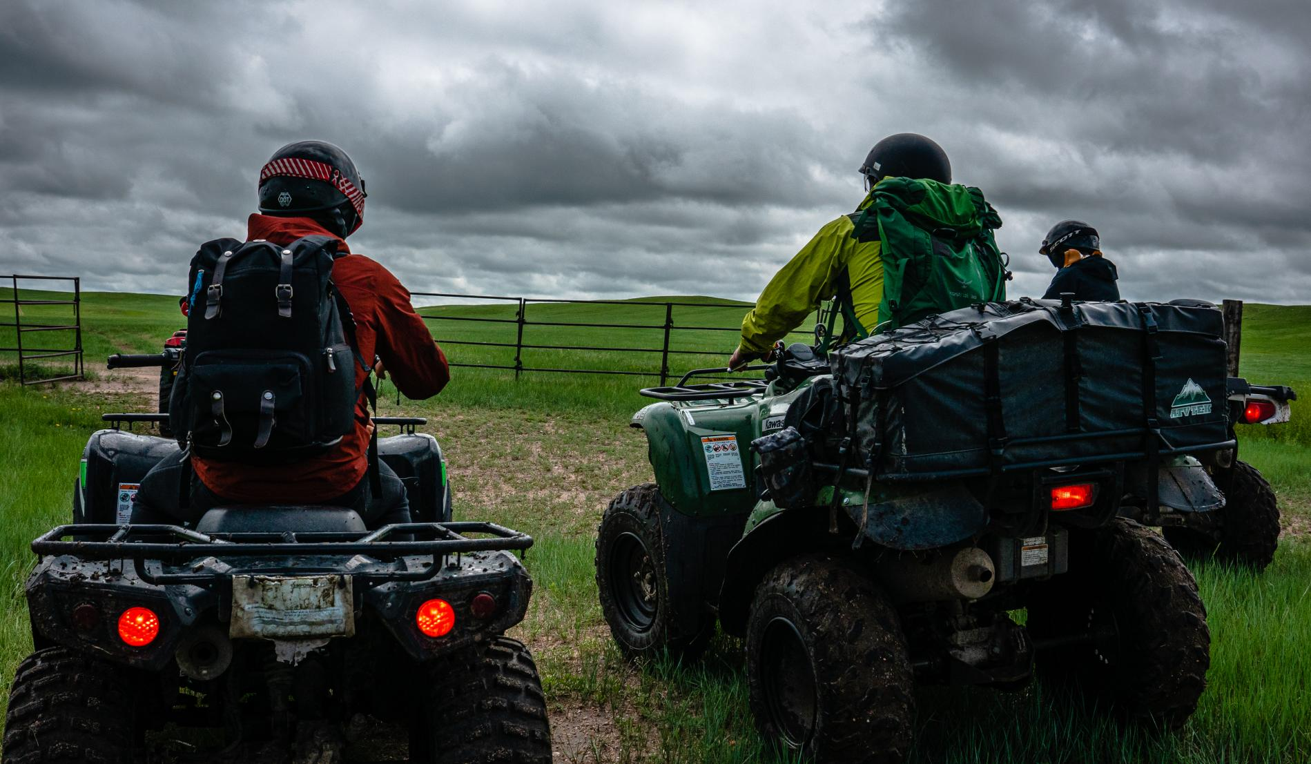 Travel writers mount up to explore the Terry Bison Ranch