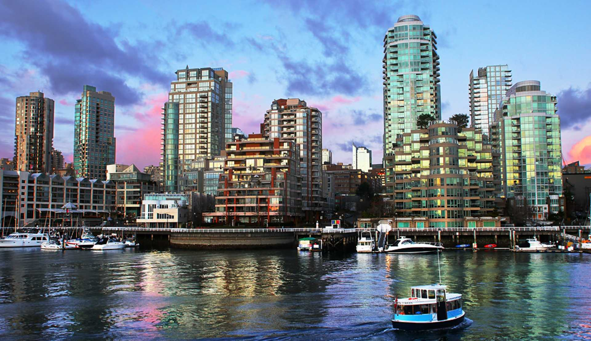False Creek Ferries and Yaletown