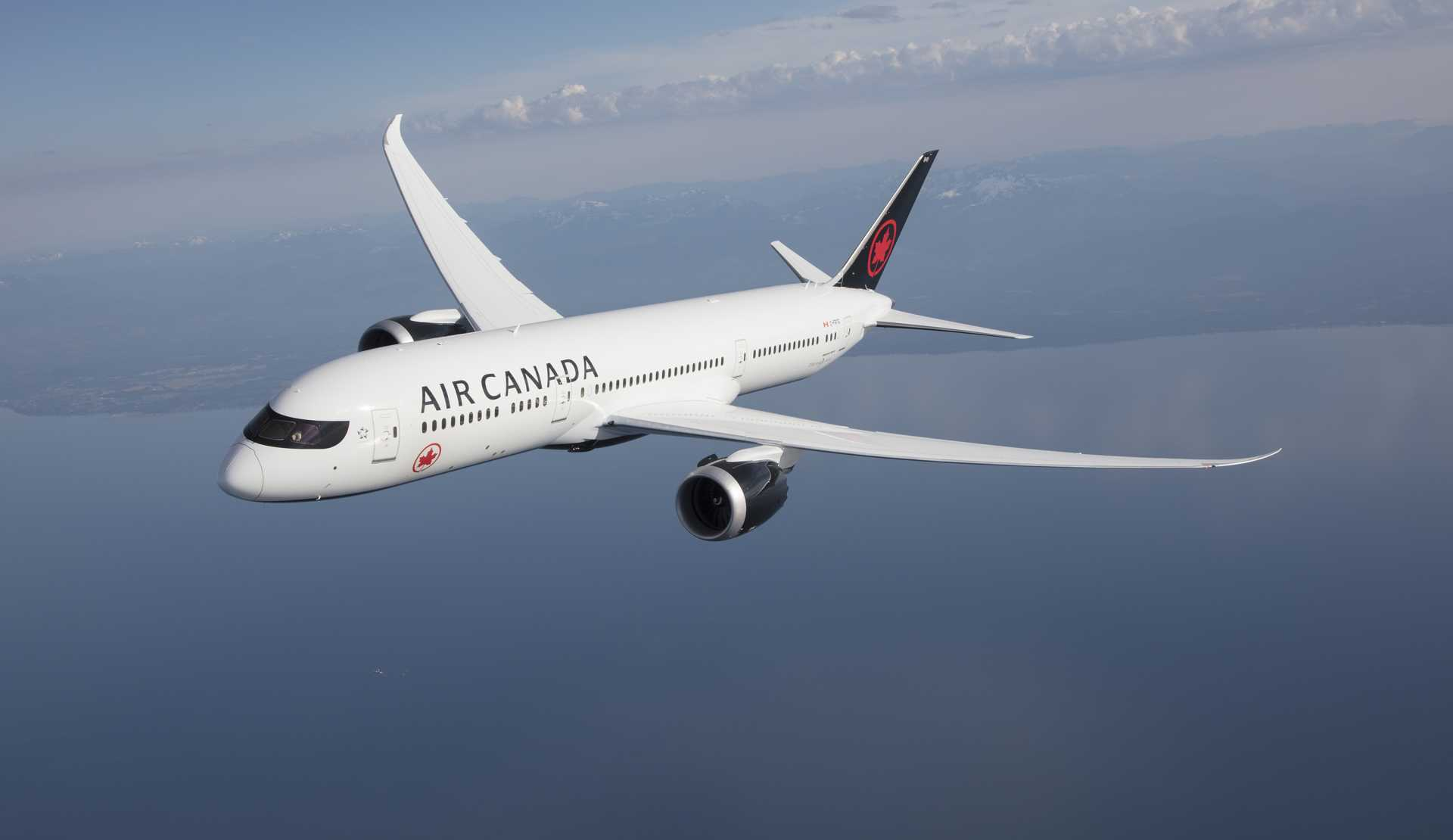 Air Canada: New Livery (September 2017)
