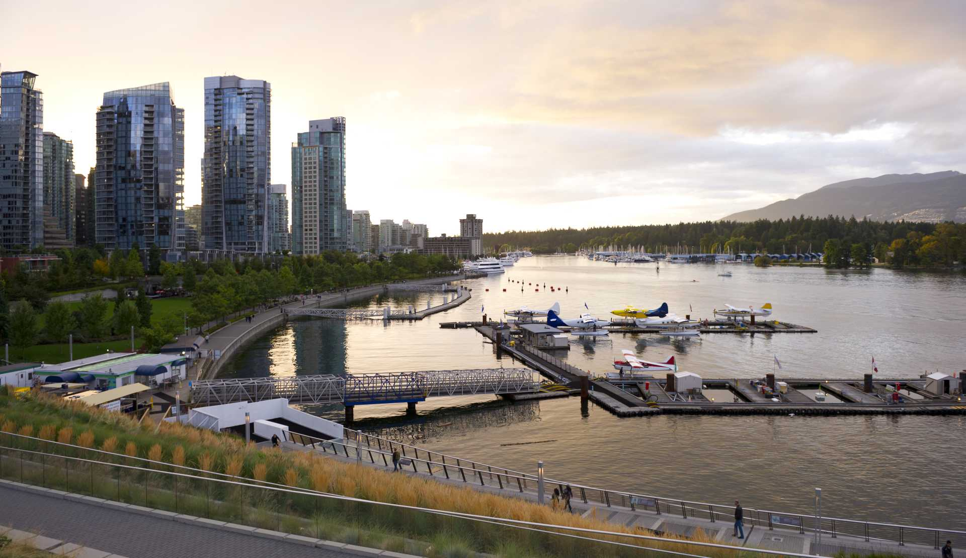 High-Res: Coal Harbour Skyline