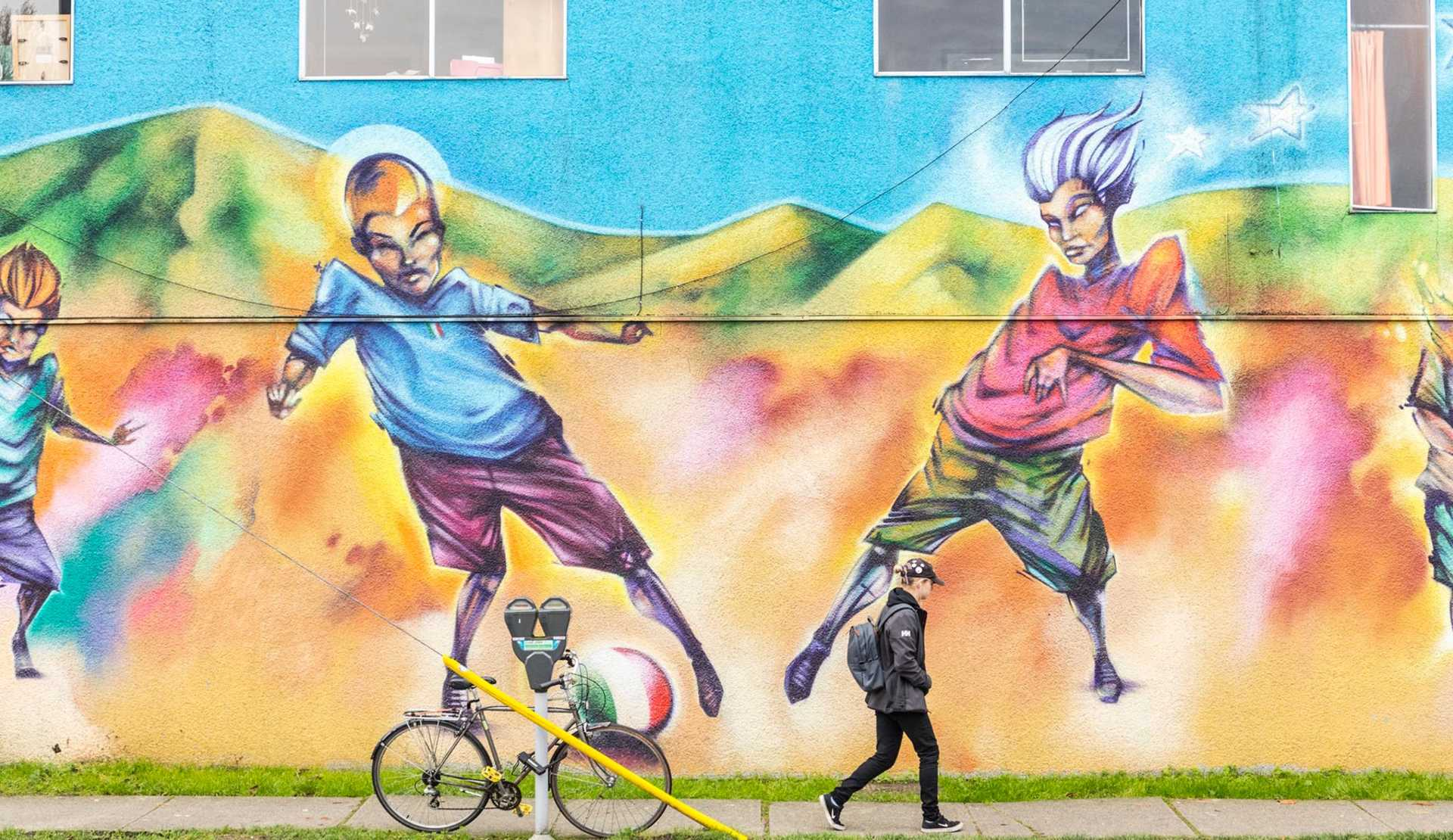 Commercial Drive mural