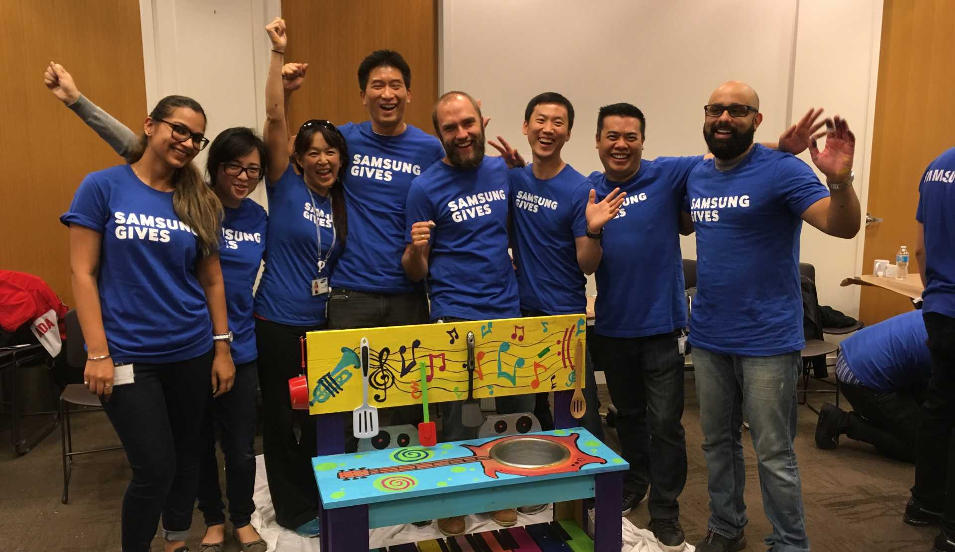 CSR: Samsung Music Team