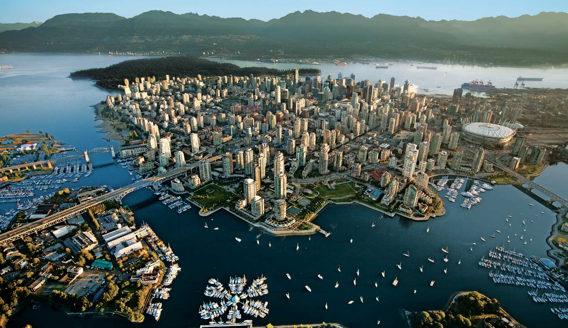 High-Res: Vancouver Aerial