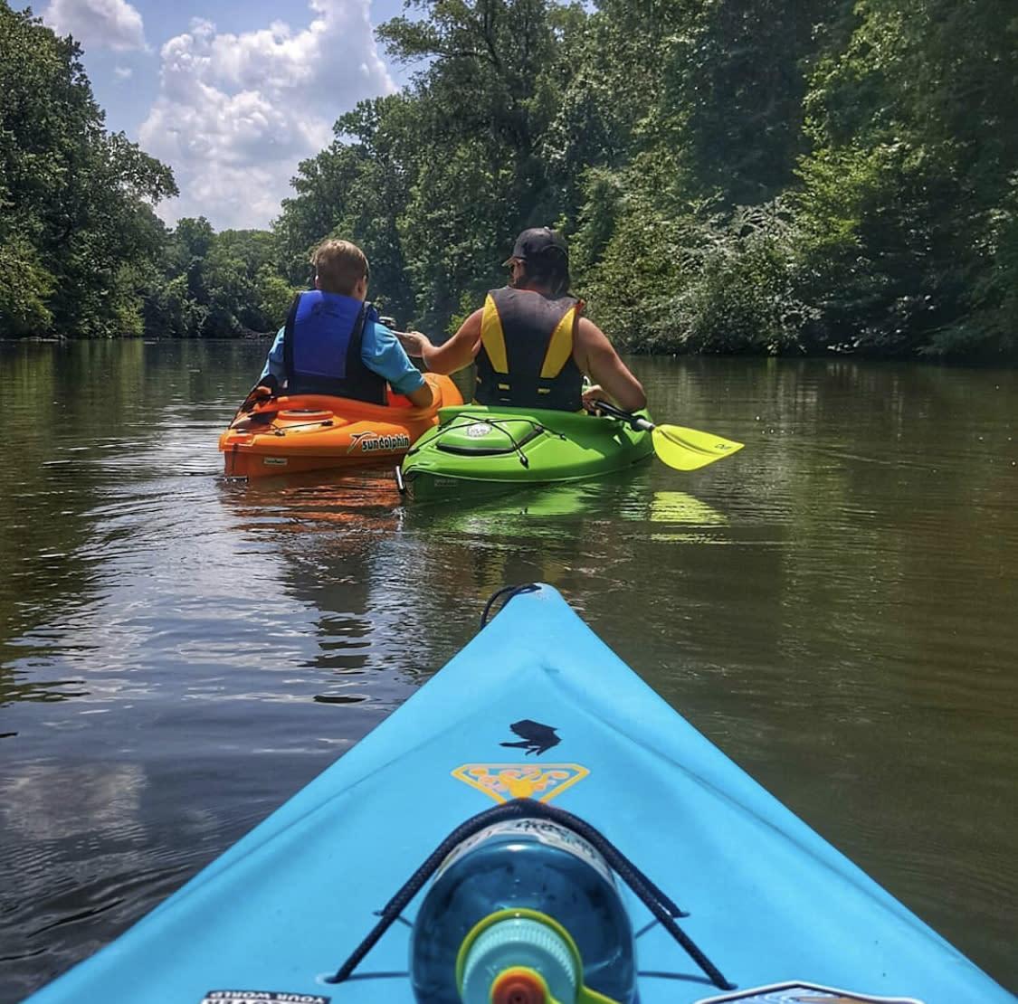 Kayaking in Alabama Mountain Lakes