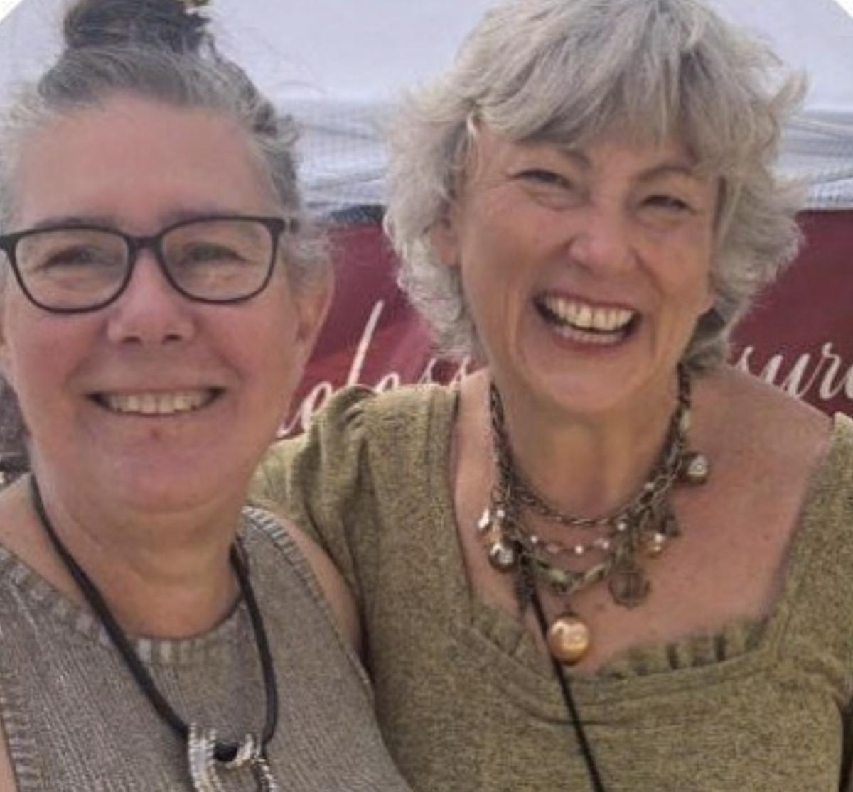 Dawn McCormack and Karen Lona