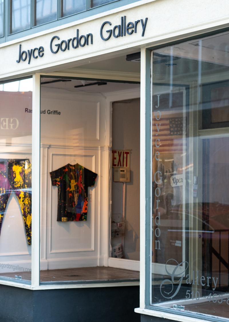 Joyce Gordon Gallery Entrance