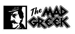 the mad greek logo