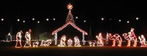 Waldensian Trail of Faith Christmas Lights