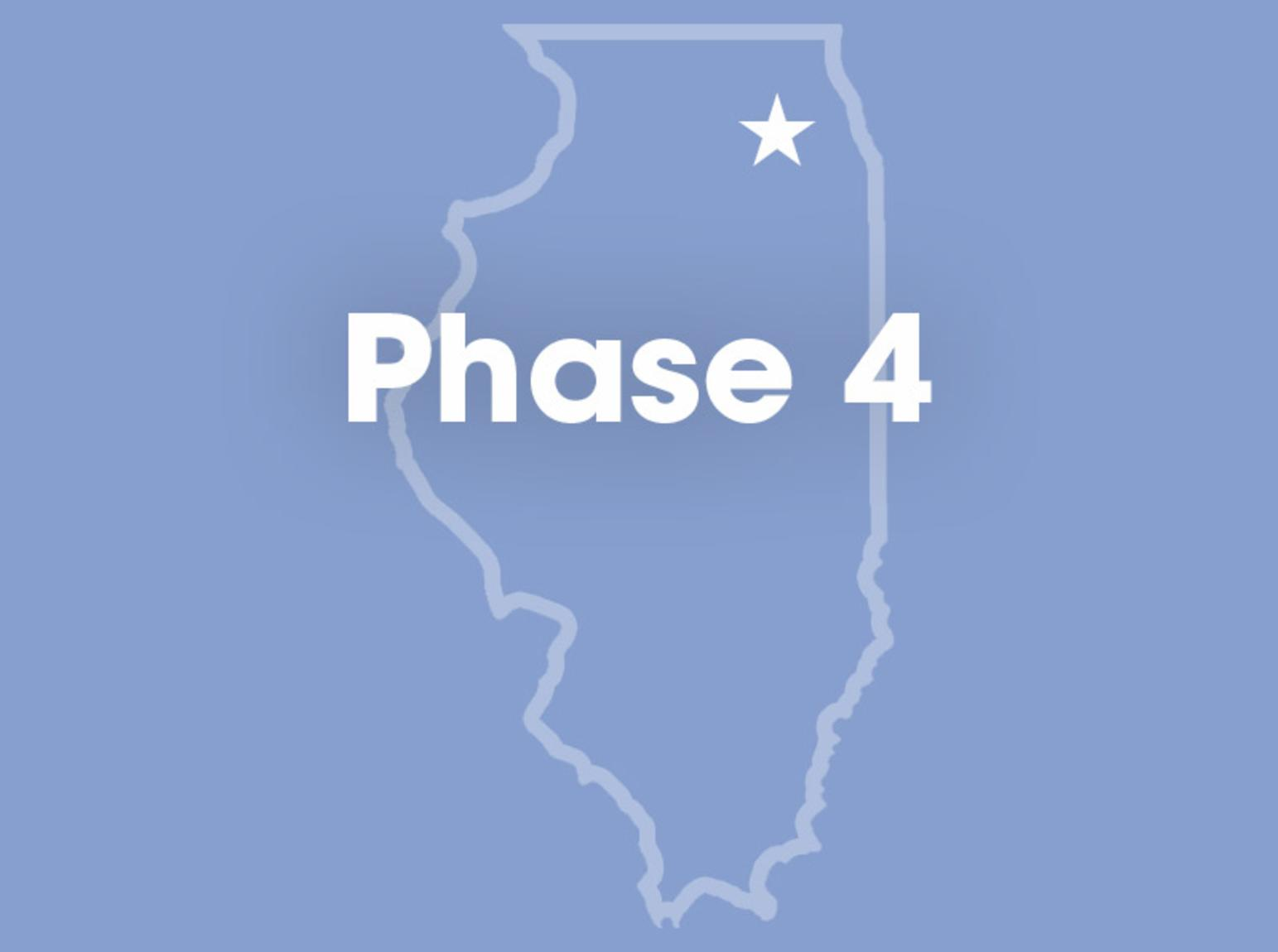 Phase 4 graphic for COVID-19